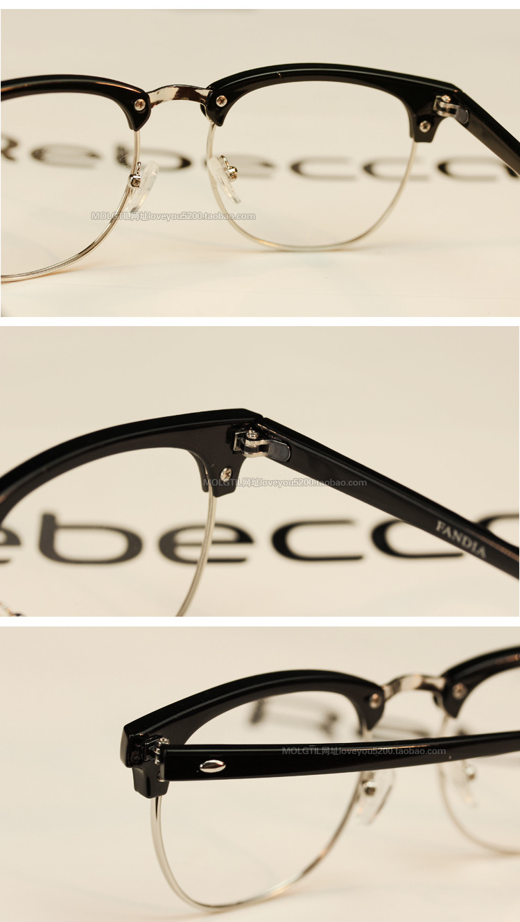 Brand Design Eyewear Frames Eyeglasses eye glasses frames for Men Male Women Eyeglasses UV Sports Computer Plain spectacle frame (36)