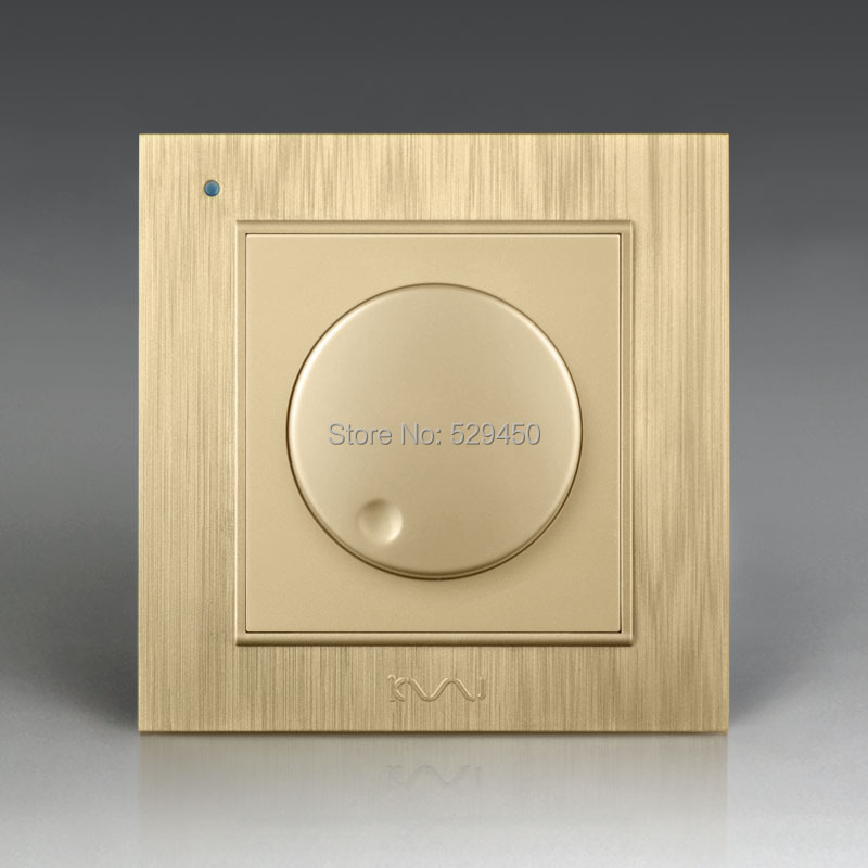 Free Shipping, Kempinski Luxury Wall Dimmer Switch, Light Switch, AC 110~250V, 86mm*86mm, X8 series free shipping dali dimmer