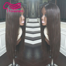Silky Straight Silk Top Full Lace Wigs Human Hair Brazilian Silk Base Full Lace Wig Glueless Straight Silk Top Wigs DHL Shipping