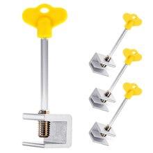 4 Pcs Home Security Sliding Window Lock Adjustable Child Window Safety Latch Security Lcoks With Keys