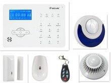 868 Mhz inalámbrica GSM/PSTN Doble red de Casa Inteligente Sistema de Alarma Antirrobo Sistema de Alarma de Seguridad con control de App