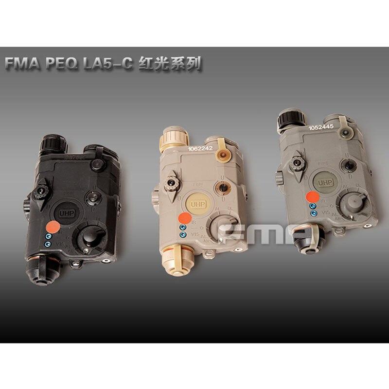 FMA Taktische Militärische PEQ LA5 C Upgrade Version LED Weißes licht + Roten laser mit IR Linsen BK/DE/FG Batterie fall-in Helme aus Sport und Unterhaltung bei AliExpress - 11.11_Doppel-11Tag der Singles 1