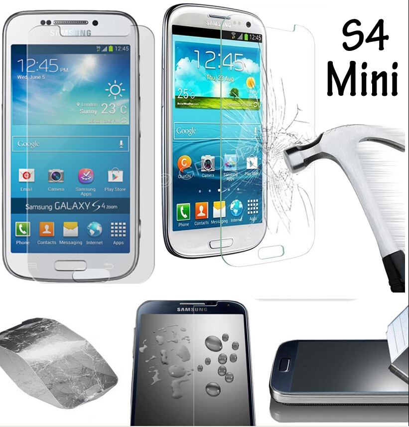 GT-I9190 I9192 GT-I9195 Protective Glass For Samsung S4 Mini Tempered Glass Film for Samsung Galaxy S4 Mini Screen Protector 9H