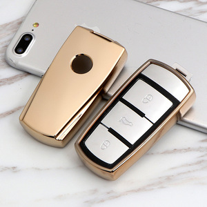 Чехол для автомобильного ключа из ТПУ для Volkswagen VW CC Passat B6 B7 Passat 3C CC Maogotan R36B5B7L, чехол для автомобильного ключа, аксессуары для стайлинга автомо...