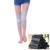 2 Unids/1 Par de Alta Elástica Transpirable Carbón De Bambú Turmalina Ayuda de La Rodilla Magnética Patella Knee Brace Pad Engrosamiento Calentamiento