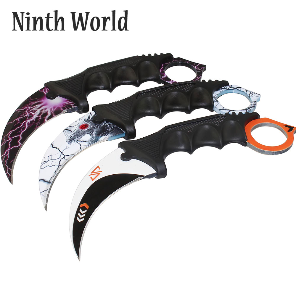 Ninth World New Products Karambit CS GO Counter Strike Survival Hunting Tactical Fixed Blade Knife Camping Knives 14 ColorNinth World New Products Karambit CS GO Counter Strike Survival Hunting Tactical Fixed Blade Knife Camping Knives 14 Color