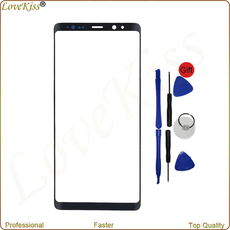 """High Quality Front Glass For Samsung Galaxy Note 8 N950 6.3"""" Touch Screen Top Lens Outer Panel+Tools For Samsung Galaxy Note8"""