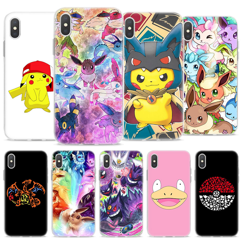cartoon-font-b-pokemons-b-font-eevee-pika-phone-cases-for-apple-iphone-x-xr-xs-max-soft-tpu-silicone-case-for-iphone-8-7-6s-plus-se-5s-case