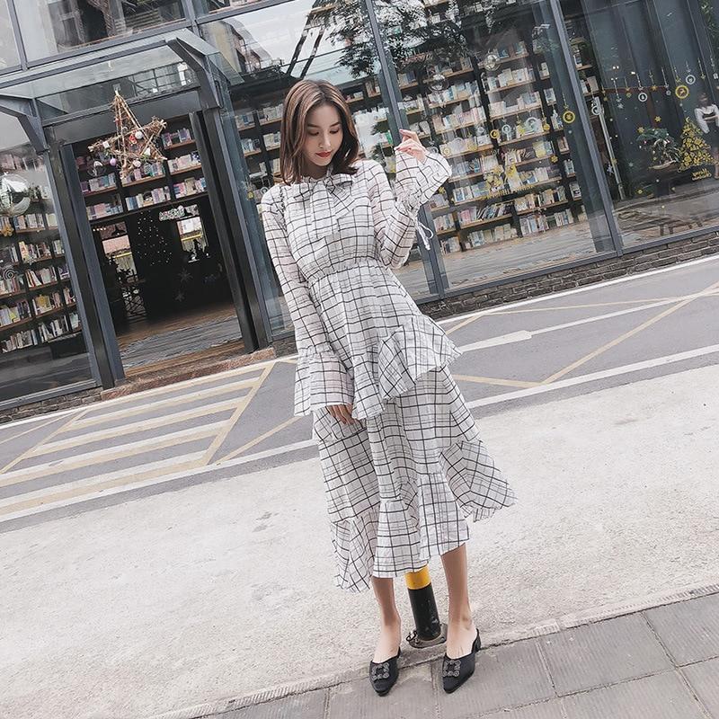 2019 elegante Frauen Vintage Prinzessin Floral Spitze Party kleid Damen kleid auf förderung-in Kleider aus Damenbekleidung bei  Gruppe 1
