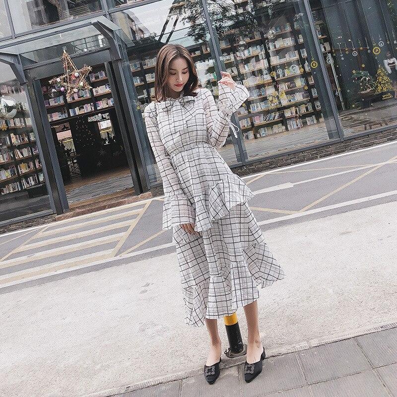 2019 femmes élégantes Vintage princesse Floral dentelle robe de soirée dames robe en promotion