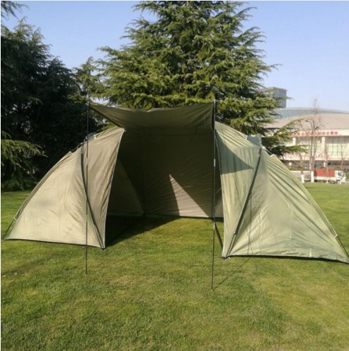 Grand Camping Touristique Tente de Deux Chambres Double Couche 5-8 Personne Pliant En Plein Air Tentes Camping Voyage en Famille Tente De Pêche