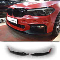 Carbon Fiber / ABS MP Style Front Bumper Lip Protector Splitters For BMW G30 Car Styling