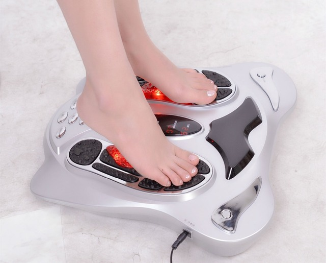 Hot Sell! Infrared Electric Low Frequency Biological Wave EMS Foot Massager Therapy