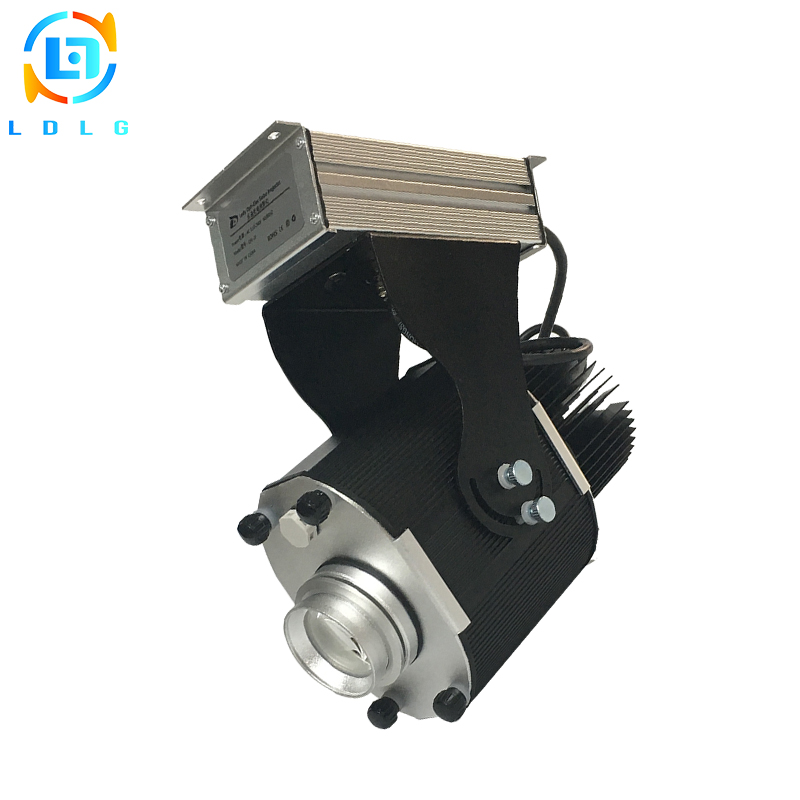 Clearance Selling Advertising 110V 220V 30W LED Projector Outdoor Waterproof IP65 30W LED Custom Static Image LED Gobo Projector company logo advertising silver 20w led rotating image gobo projector 110v 220v 1700lm indoor outdoor led custom gobo projector