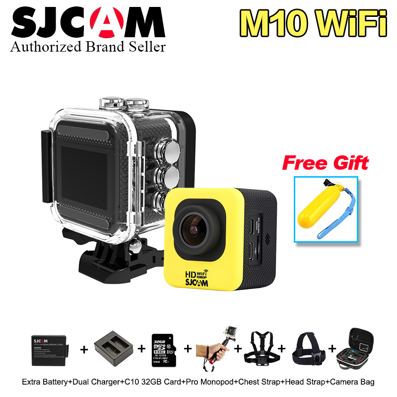 Original SJCAM M10 wifi Mini Full HD Action Camera Sport Waterproof DV Video Camera 1.5 inch Ultra HD screen Web Camera
