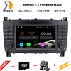1024X600 Quad Core Android 7 11 Car DVD For Mercedes Benz C Class W203 C200 C230