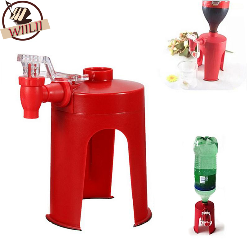 1 Pc Novetly Huishoudelijke Draagbare Bar Keuken Accessoires Drinken Doseer Cool Soda Water Coca Coke Fizz Gadget Saver Dispenser