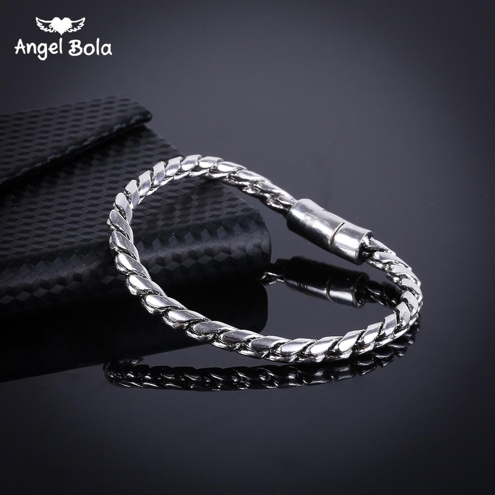 New Healthy Magnetotherapy Ancient Silver Bracelet Jewelry New Fashion Bio Energy Magnet Buddha Bracelets & Bangles B1019-3