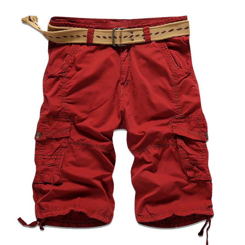 HOT 2018 Summer hot style mens casual men Mens trousers tooling multi-pocket Cargo bermudas masculina military short homme