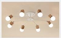 Lâmpada de teto vintage led para sala de estar  para quarto  moderna  luminária de teto e27