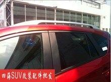 Алюминиевый Сплав! боковые Бары Рейлинги Стойку Багажника Для Mazda CX-5 CX5 2012-2015 3 М Клей Типа