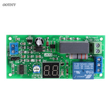 цена OOTDTY AC220V Delay Timer Switch Turn Off Board 0 Seconds-99 Minutes Delay Relay Module онлайн в 2017 году