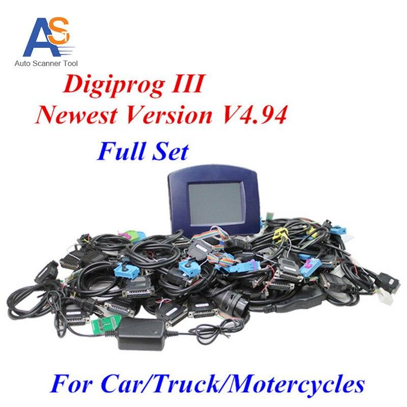 Digiprog 3 v4 94 Odometer Correction Digiprog III Mileage Correction Odometer Programmer V4 94 Digiprog3 Full