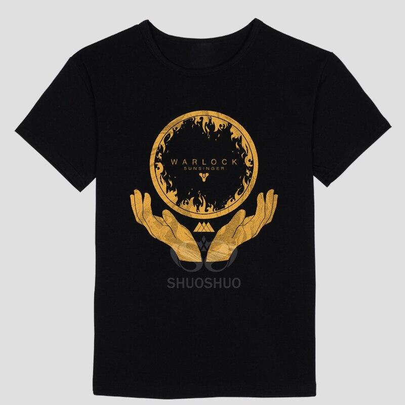Summer fashion Games theme T-shirt FPS PS4 GAME Print Design Fashion Style Casual Cotton Tshirt T shirt Destiny