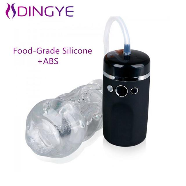 2016 New Arrival Food-Grade de Silicone Masculino Copo Masturbador 10 Velocidade Forte Otário E Vibração Buceta Sexo Para Homens produto