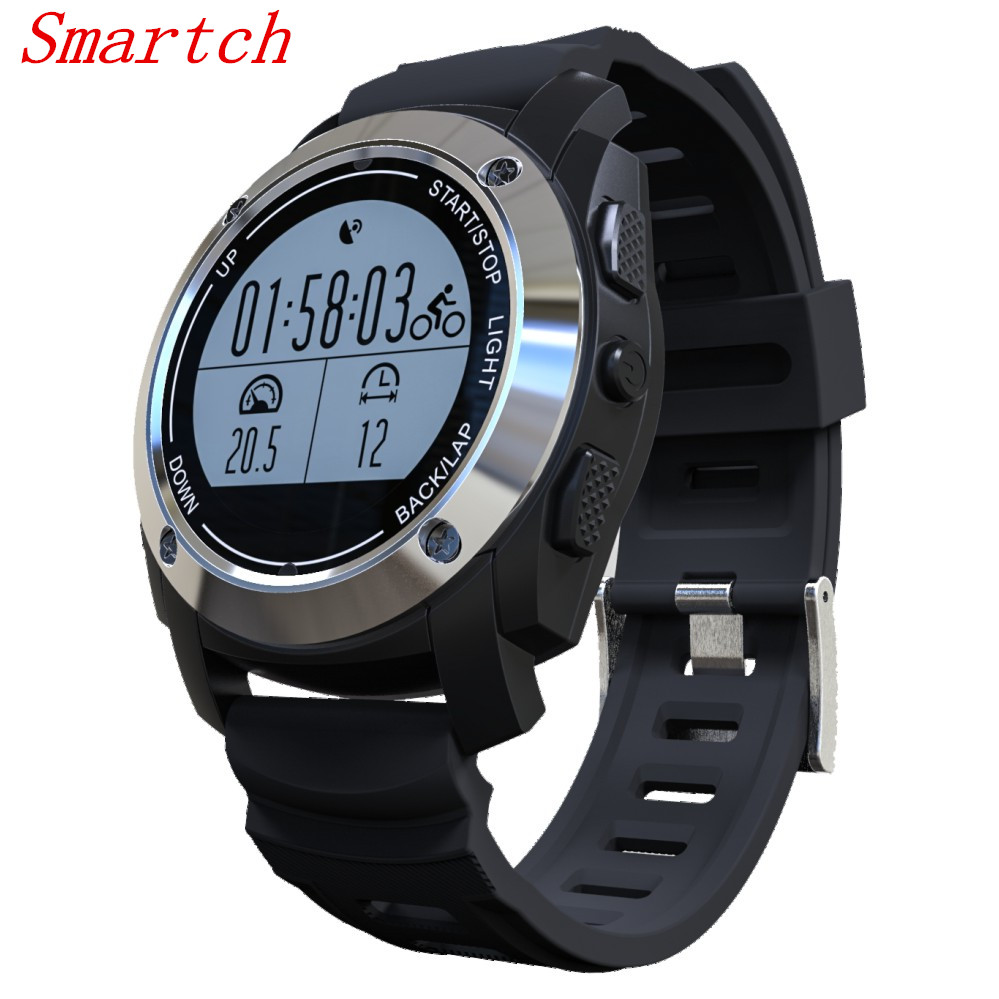 цена Smartch GPS Sports Smart Watch S928 With IP66 Life Waterproof Heart Rate Monitor Pressure Smartwatch For Android 4.3 IOS 8.0