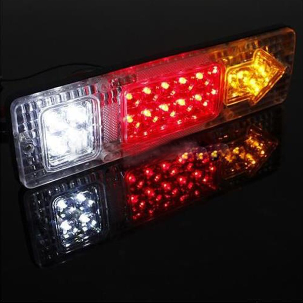 2Pcs 4014 12SMD Eagle Eye Light Red Lamps LED Bulb Fog Signal Turn Headlight  UQ