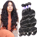4 Pcs Lot Body Wave Raw Indian Hair Bundles Indian Virgin Remy Hair 8A 100% Human Hair Weft Good Quality Extensions Hair Vendors