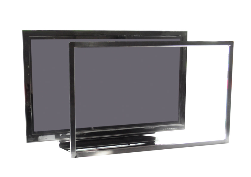 Promotion! 50 IR touch screen without glass, use for LED/LCD , USB connector, 2 touch points Multi IR touch panel frame - 6