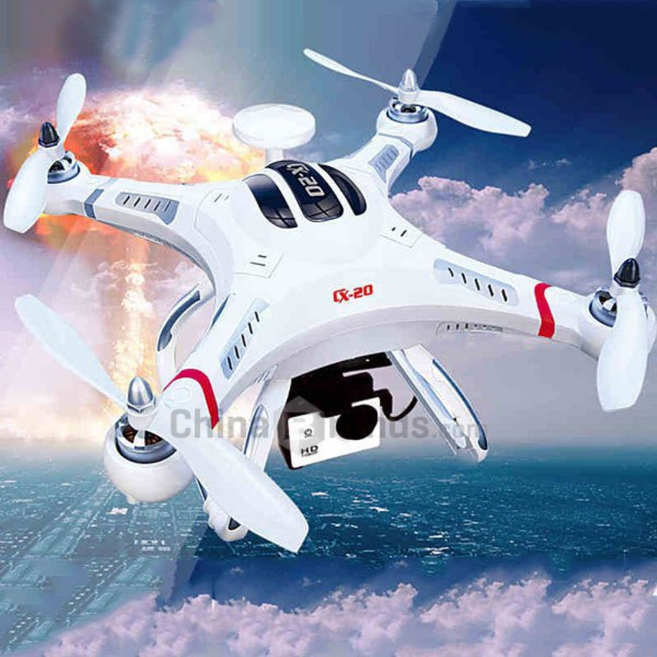 Cheerson CX-20 CX 20 Auto-Pathfinfer RTF Mini RC Drone 6-axis GPS Helicopter CX20 With 2.4G GPS Professional RC Quadcopter