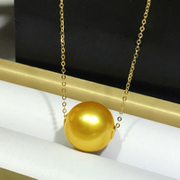 Sinya Высокое качество Настоящее Саутси золотое ожерелье с жемчугом 18 К Au750 золотые цепочки 8 12 мм один Южно жемчуг ожерелье для женщин мать