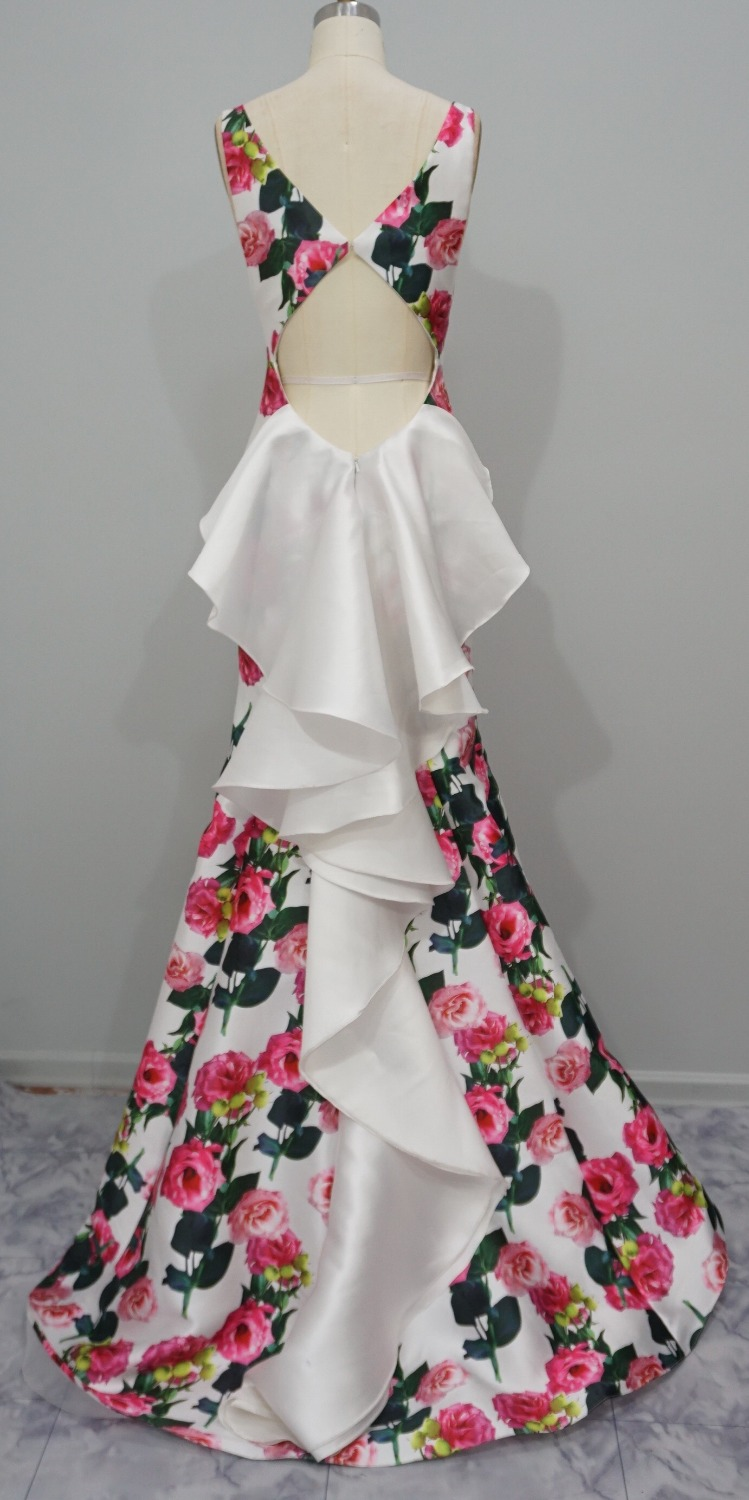 Rose Pattern Dress Best Ideas