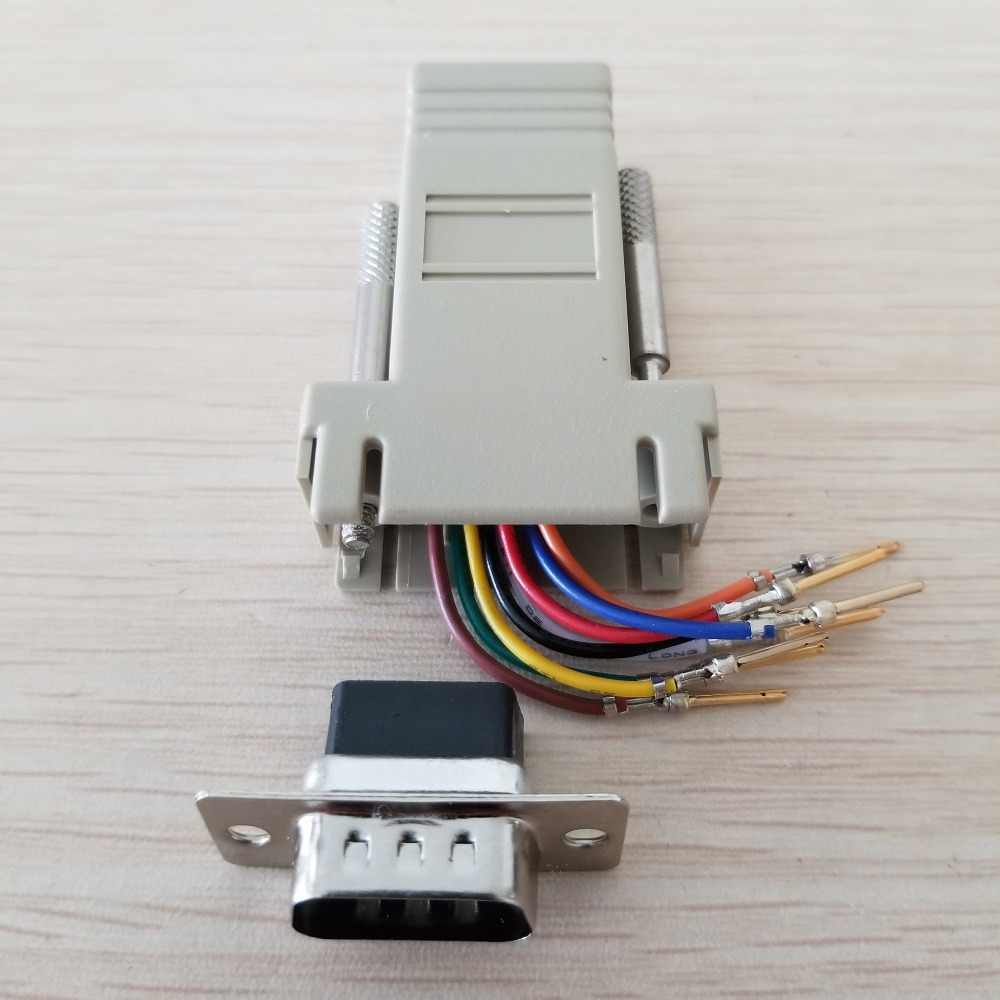 detail feedback questions about rj45 female to db9 male rs232 com port modular extender for pc diy on aliexpress com alibaba group [ 1000 x 1000 Pixel ]