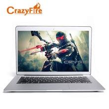 Crazyfire13.3 дюймов 1920*1080 экран игровой ноутбук ультра-книга с core I7 4510U 8 г оперативной памяти и 256 г SSD Bluetooth окна 8.1