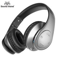 Sound Intone P7 + Bluetooth Наушники Накладные наушники Стерео Беспроводной + Проводной Гарнитуры с Микрофоном Громкой связи Для телефон