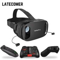 Headphone Upgrade Version Virtual Reality Glasses 3D VR Glasses Headset Helmets Game Box Game Box VR