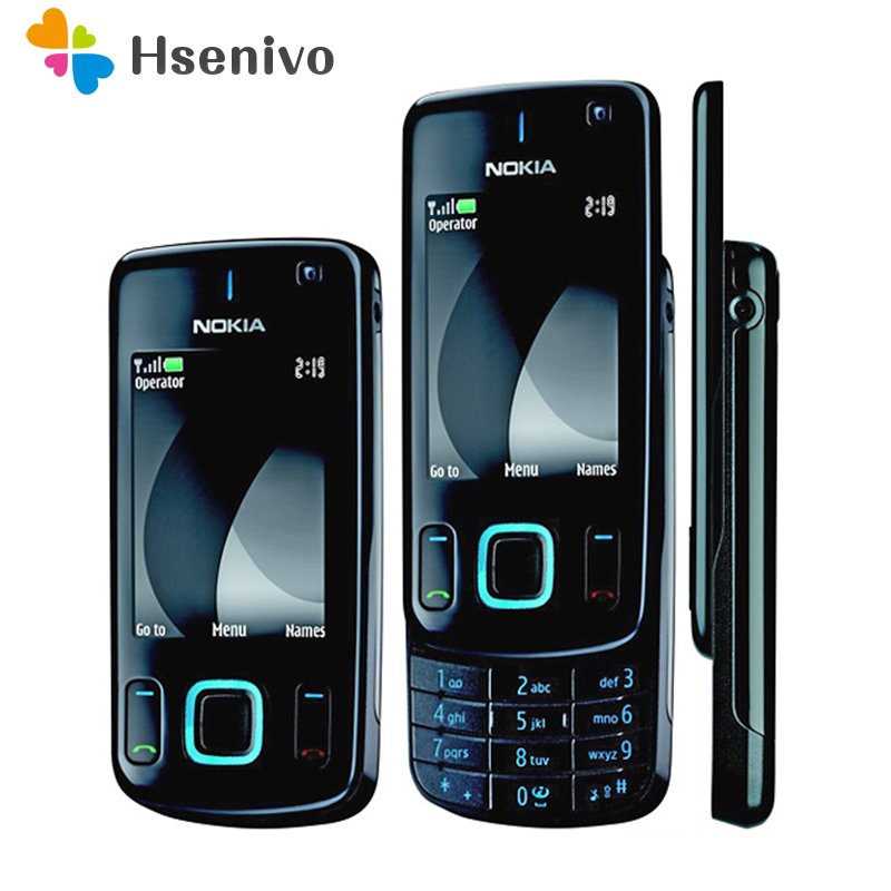 US $47 5 15% OFF 6600S 100% original phone Nokia 6600 slide refurbished  cell phone Black color in Stock refurbished-in Cellphones from Cellphones &