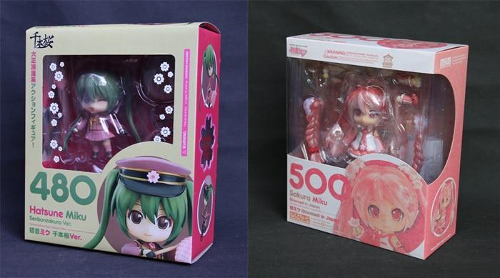 Hatsune Miku Sakura Miku Bloomed In Japan Nendoroid 500 PVC Figure New In Box