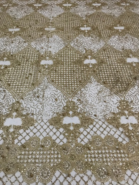 למעלה מכירת מודבק גליטר sparkle JIANXI.C 62519 בד אפריקאי הודו mesh טול עם חרוזים לשמלת כלה/ערב