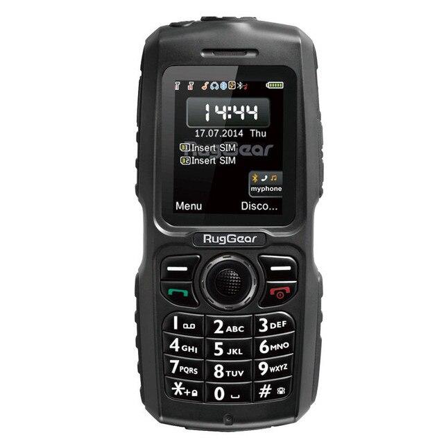 16c6f1ed6607 D origine RugGear RG100 Robuste Mariner Étanche téléphone Antichoc  Militaire Extrême Cellulaire Téléphone Mobile GSM