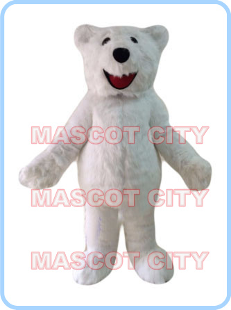 mascot polar bear mascot costume plush white bear custom fancy costume anime cosplay kits mascotte fancy dress carnival costume