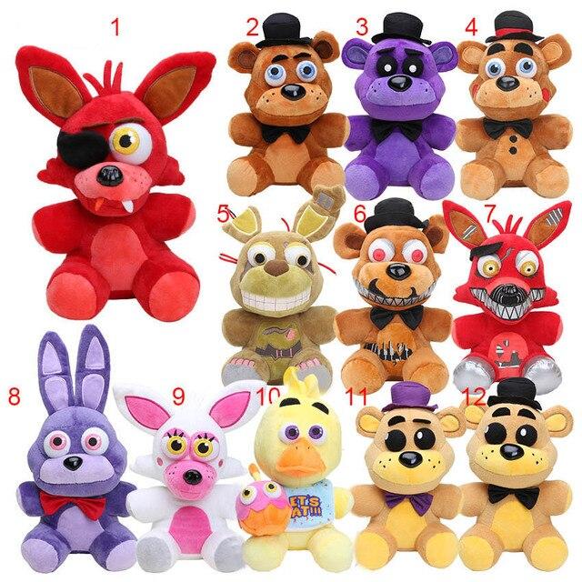 Kartun hewan Boneka Stuffed 10