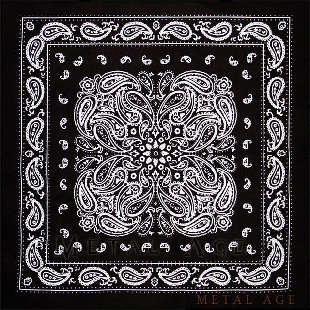 US $0 99 |Metal Age Paisley Hiphop bandana, new school gangsta style scarf,  Eminem & Exo durag, street culture, cool shit trong Metal Age-Paisley