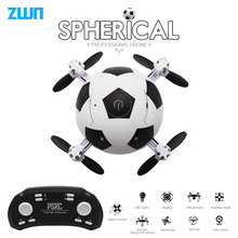 Mini Dron Voetbal Quadcopter Opvouwbare Drone 3D Flips Een Sleutel Opstijgen Headless Modus RC Helicopter Kids Gift Toy vs e010 S9