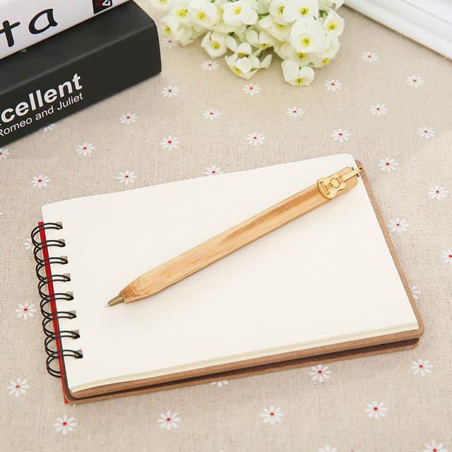 Cute Totoro Wooden Book Diary Series II