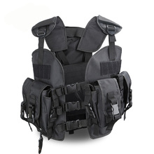 Military Tactical Gear Vest for Men Special Forces Vest Navy Seals SWAT Duty Vest Army Hunter Police CS Airsoft Multi Pocket